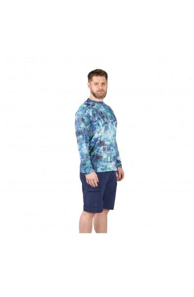 FHM T-shirt Mark Print blue M