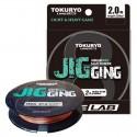 Line TOKURYO Jigging X8 5 Multi 1,2 PE 150m 0,15mm 20,9lb