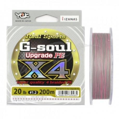 Ygk G-Soul x4 18lb 150m