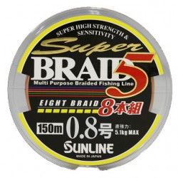 Sunline SUPER BRAID 5 8 Braid 150 m   0,6