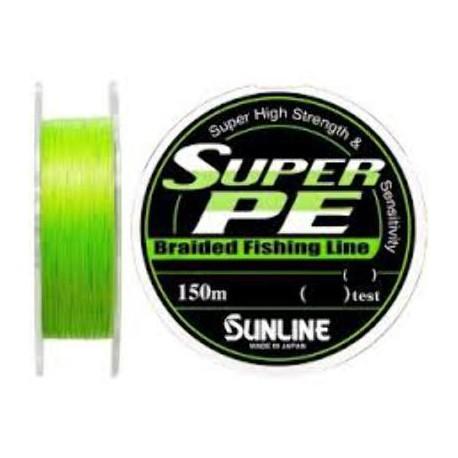 Sunline SUPER PE  150 m 6lb