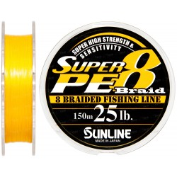 SUNLINE BRAID SUPER PE 8 Braid 6 lb