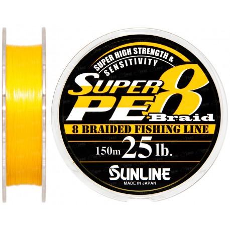 SUNLINE BRAID SUPER PE 8 Braid 6 lb
