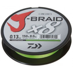 J-Braid X8 0.16mm-150m chartr.