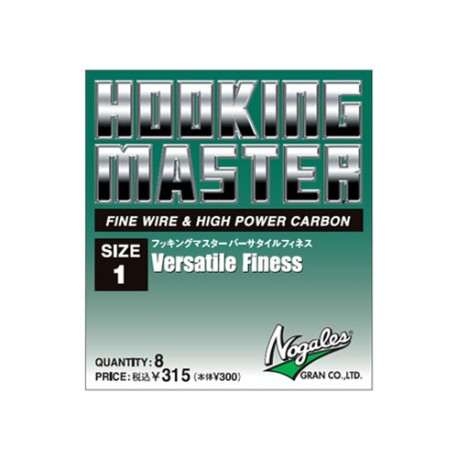 Gran Nogales Hooking Master, Versatile Finess,  2/0