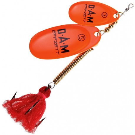 DAM FZ Shallow Runner Tandem No. 2+4 Fluo Orange