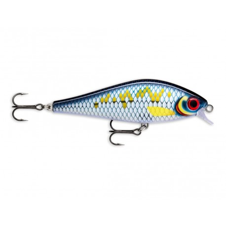 RAPALA Super Shadow RAP 16cm 77gr  Slow Sinking SSDR-16 SCRB