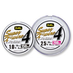 Duel Super X-WIRE 4 150 m.  0,8  silver 0,15 mm