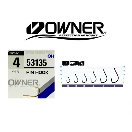 Owner PIN HOOK 53135 s. 6 8qty