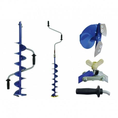 ICE DRILL NERO 110mm 110-2 730mmn 2,4kg 106-110