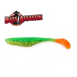 Bass Assasin Turbo Shad 4 Walleye 10 qnt. FIRE TIGER