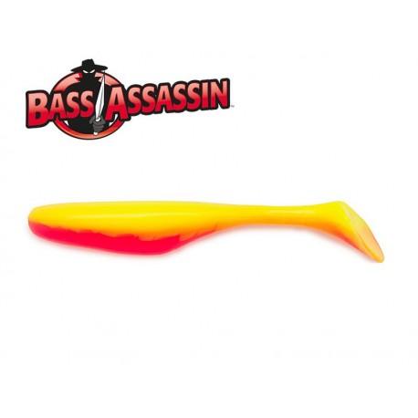 Bass Assasin Turbo Shad 4 Walleye 10 qnt. CANDY CORN