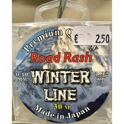 Road Rash WINTER LINE 30M 0.22mm 6.28 kg