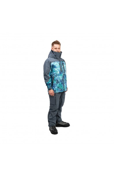 FHM Jacket Guard Print Blue/Gray L