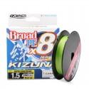 OWNER Broad PEx8 Kizuna Green 1.0 15lb 135m Super Chartreuse