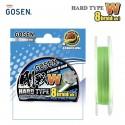 GOSEN W8 Hard Type PE Braided Fishing Line 150m 2.0 35lb 15.9kg 0.242mm Light Green