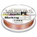 Varivas High Grade PE Type II x8 Marking 0.8 16lb