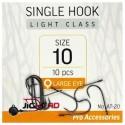 JIGHEAD Single Hook Light Class AT-20 Size 4 qty 7