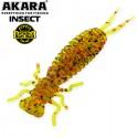 AKARA Soft Tail Insect 50 K002 qty 5