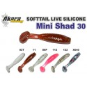 AKARA Soft Tail Mini Shad 30 X040 qty 12