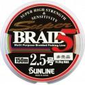 Sunline SUPER BRAID 5 multi color  150 m   1,0