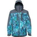 FHM Guard Jacket Print Blue/Gray Size S