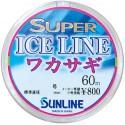 Sunline Ice Line Wakasagi mono   0,6-  0,128 mm. 60 m
