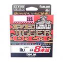 SUNLINE PE Jigger ULT x8 1.2 9.2kg 200m MultiColor