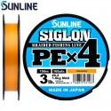 Sunline SIGLON PE x 4 0,6 10 lb 4,50 kg. 150 m. Orange