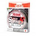 YO-ZURI Super Braid 8 R1287 1.5 13.5kg 300m 5color