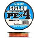 Sunline SIGLON PE x 4 2,0 35 lb 15,5 kg. 150 m. Multi Color