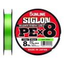Sunline SIGLON PE x8 1.5 25lb 11kg. 150m Light Green