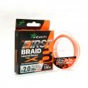 INTECH First Braid X8 0.8 14lb 150m Orange