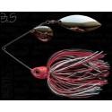 BERTI Spinnerbait Gigant B&S S-03-951 17g Colorado-Salcie Alb-Negru-Rosu