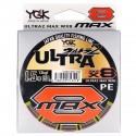 YGK Ultra2 Max WX8 1.2 10.8kgf 150m Multi Color