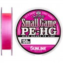 SUNLINE Small Game PE-HG 0.5 8lb 150m Pink Color