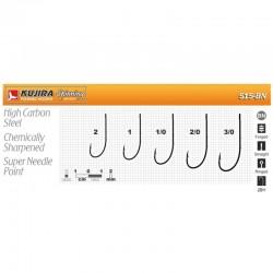 Hooks KUJIRA 515 (Nr. 2/0, BN, jig, pack. 5 items)