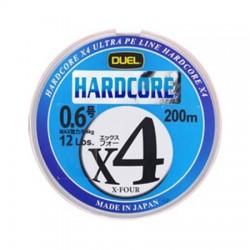 HARDCORE X4  150 m. 2,0 0,242 mm. Yellow