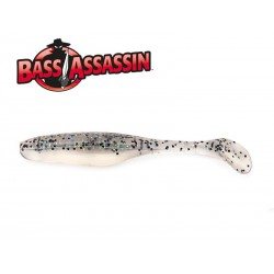 Bass Assasin Turbo Shad 4 Walleye 10 qnt. GREY GHOST