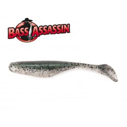 Bass Assasin Turbo Shad 4 Walleye 10 qnt. SILVER MULLET